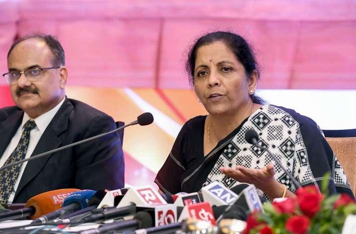 Union Finance Minister Nirmala Sitharaman - India TV