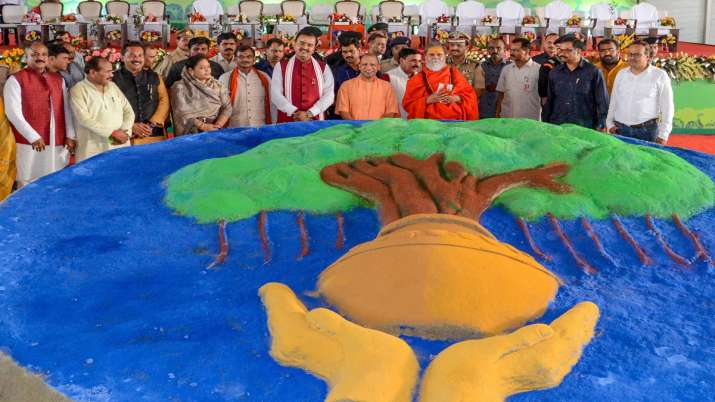 Uttar Pradesh Chief Minister Yogi Adityanath - India TV