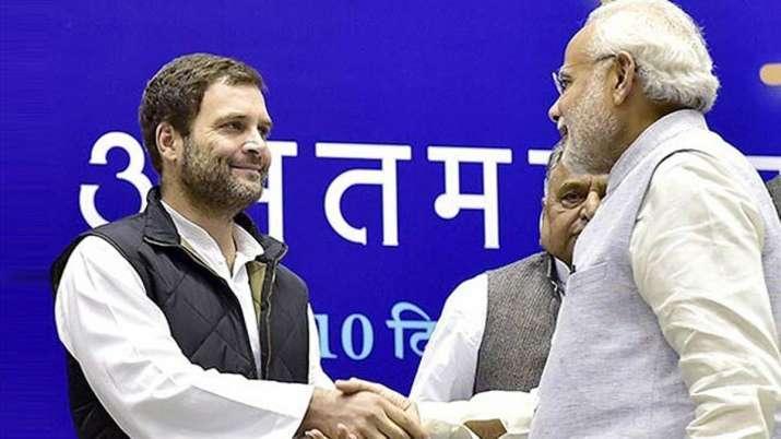 Rahul Gandhi and PM Narendra Modi | PTI File- India TV