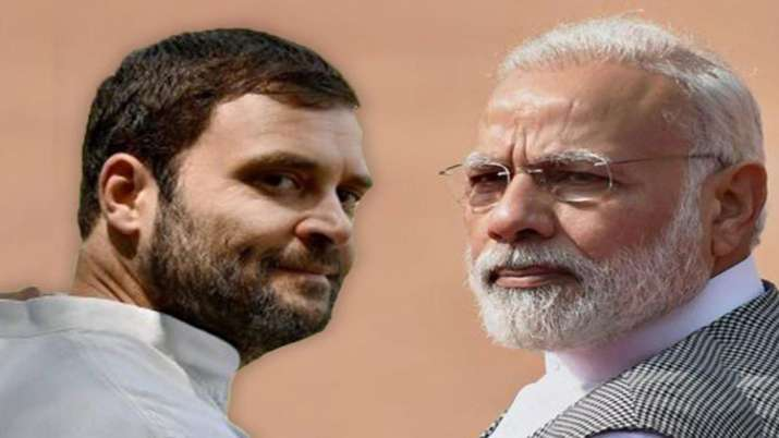 Rahul Gandhi and Narendra Modi - India TV