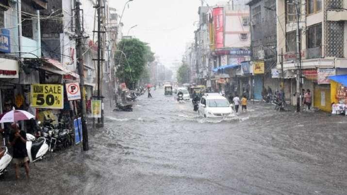 Image result for राजस्थान-पंजाब में भारी बारिश का अलर्ट, 5 राज्यों में बाढ़ और भारी बारिश से अबतक 241 लोगों की मौत