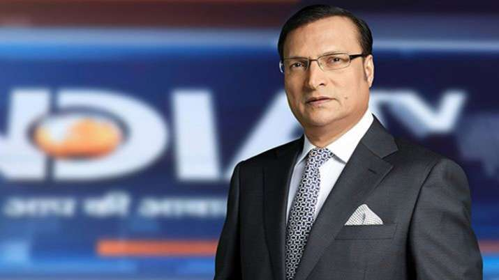 India TV Chairman and Editor-in-Chief Rajat Sharma   India TV- India TV
