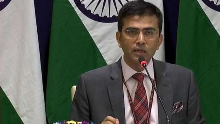 The letter is not even worth the paper on which it was written says MEA- India TV