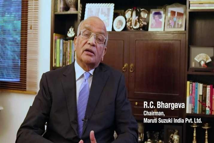 RC Bhargava, Chairman, Maruti Suzuki India Pvt Ltd- India TV Paisa