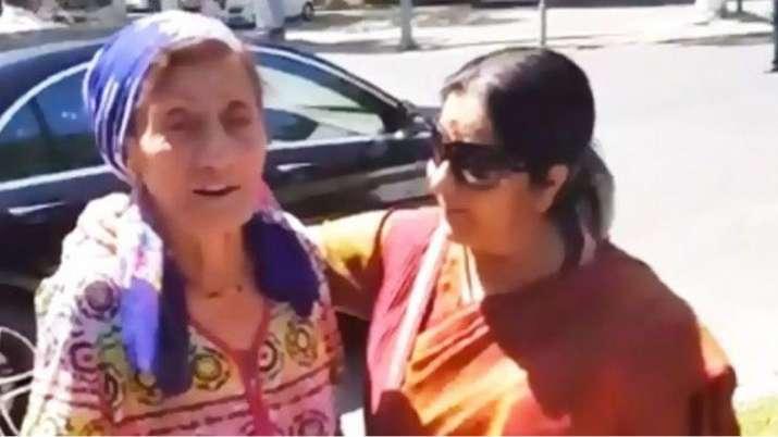 sushma swaraj death- India TV