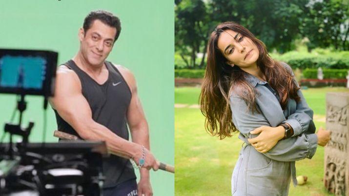Salman khan and surbhi jyoti- India TV