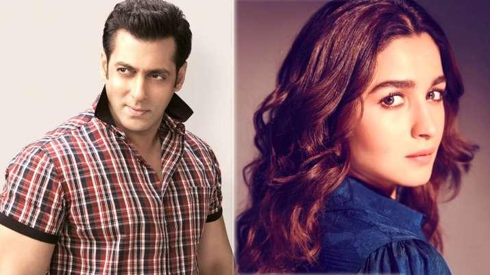 Salman Khan and Alia Bhatt- India TV