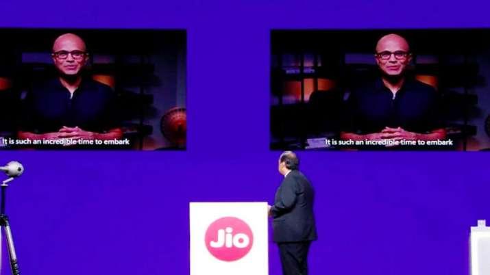 Jio, Microsoft team up for digital transformation alliance- India TV Paisa