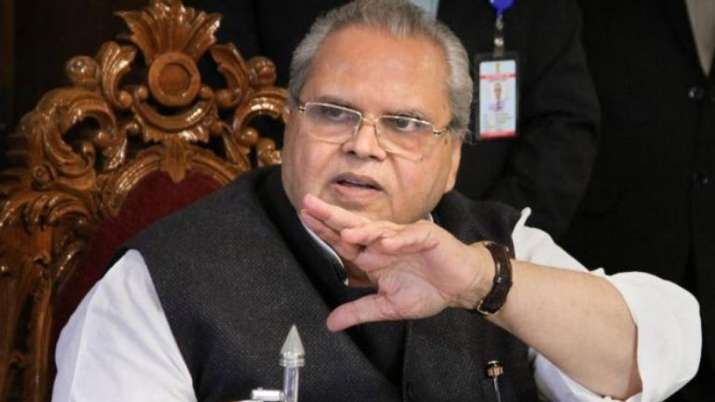 Governor Satya Pal Malik directs Civil Secretariat Srinagar & govt offices to resume normal function- India TV