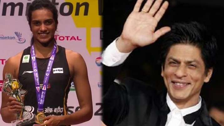 P.V Sindhu- Shah rukh khan- India TV