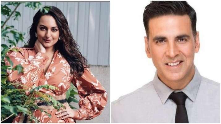 Sonakshi sinha and akshay kumar- India TV