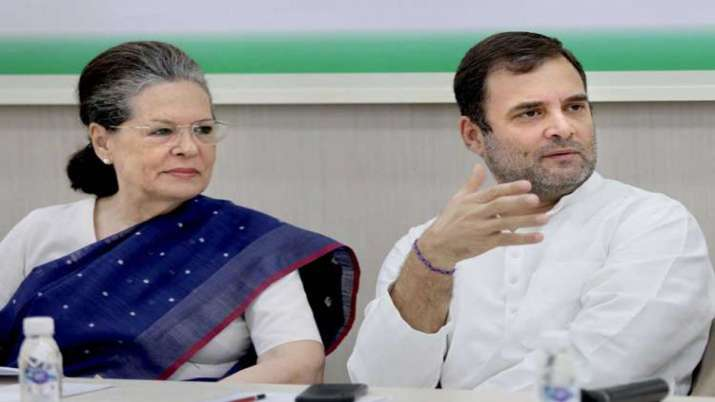Sonia Gandhi and Rahul Gandhi- India TV