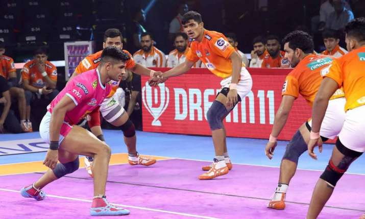 Tamil Thalaivas vs Puneri Paltan- India TV