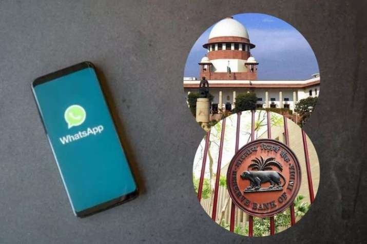 Supreme Court Gives RBI Six Weeks To Confirm WhatsApp Payments Data Localisation- India TV Paisa