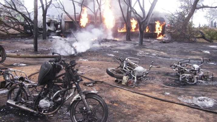 Several people killed in a fuel tanker explosion in Tanzania | AP- India TV