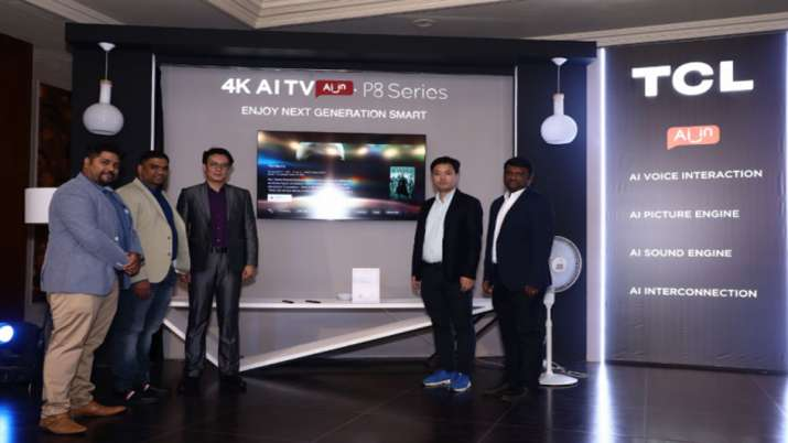 TCL launches P8 Series 4K AI Smart TV starting at Rs 27990- India TV Paisa