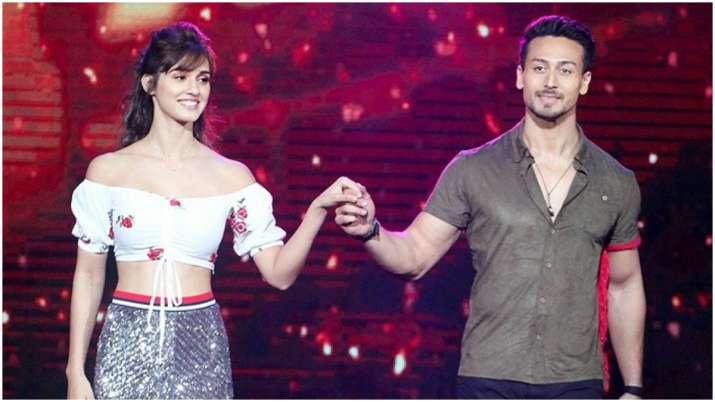 Tiger shroff and Disha patani- India TV