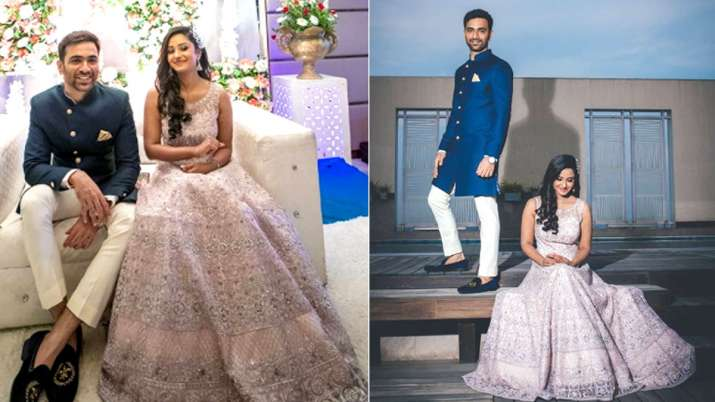 Tina Philip gets engaged to boyfriend Nikhil- India TV