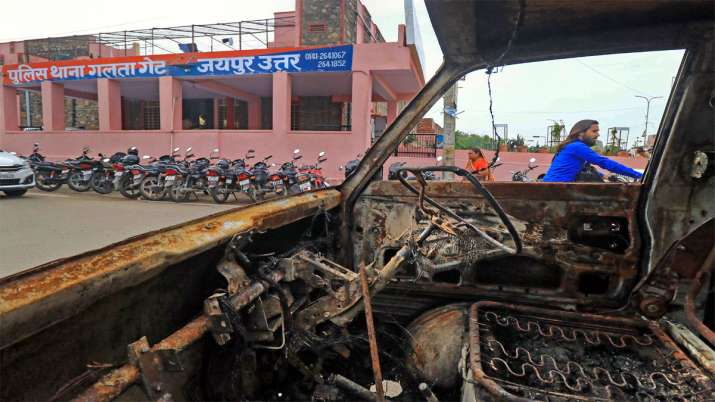 Jaipur communal clashes Article 144 impose in 15 areas