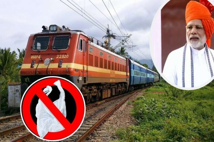 ministry of railways has directed all railway units to enforce a ban on single use plastic material - India TV Paisa