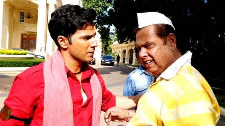 Varun Dhawan with father David Dhawan- India TV
