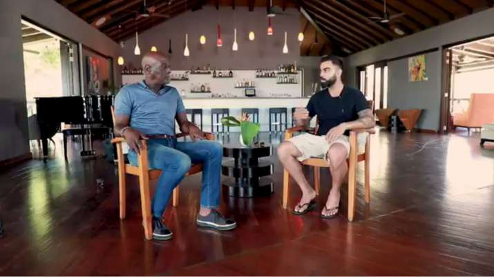 सर विव रिचर्ड्स और विराट कोहली- India TV