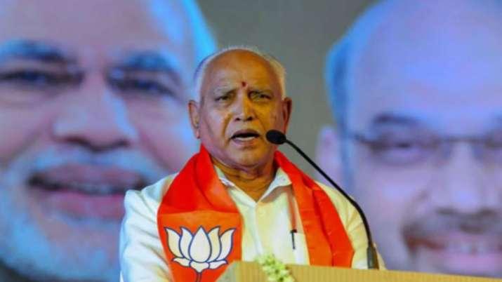 Karnataka CM B S Yeddyurappa- India TV