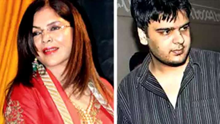 Zeenat Aman and Zahaan Khan- India TV