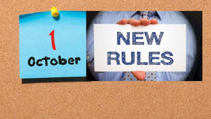 new rules apply from 1 october 2019 - India TV Paisa