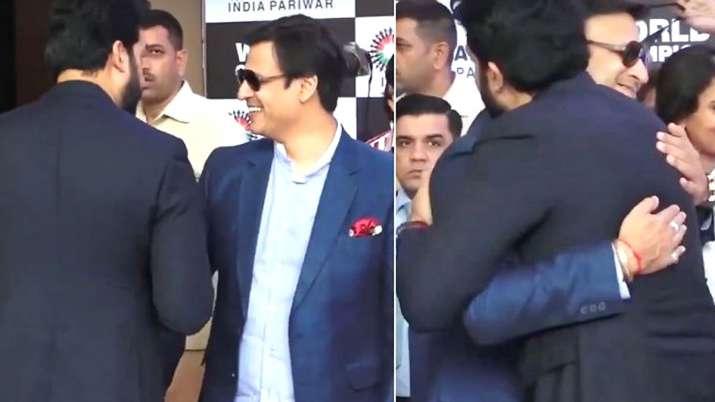 Vivek Oberoi and Abhishek Bachchan- India TV