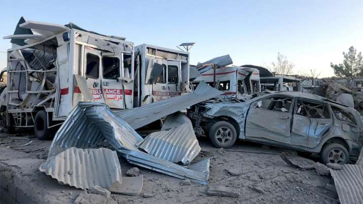 Taliban car bomb kills at least 20 in southern Afghanistan | AP- India TV