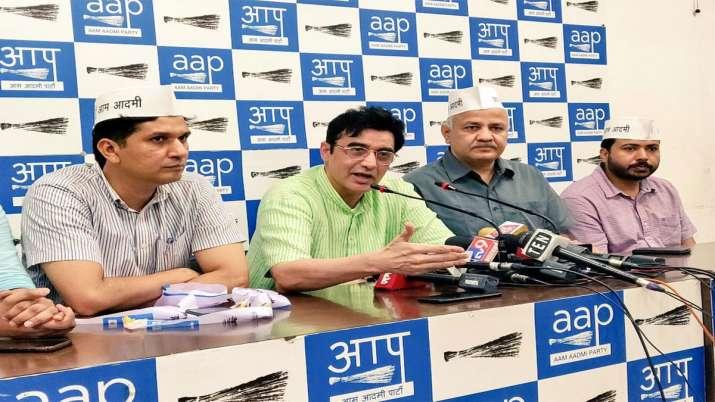 Ajoy Kumar joins Aam Aadmi Party- India TV