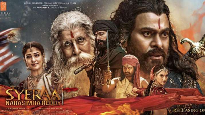 Sye Raa Narsimha Reddy Trailer Out- India TV