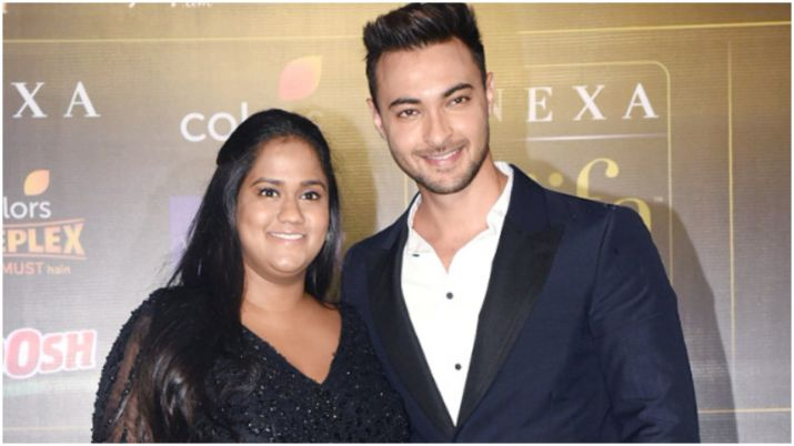 Aayush sharma and arpita khan- India TV