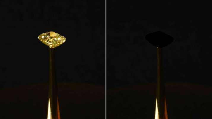 MIT engineers develop blackest black material to date   Image: R. Capanna, A. Berlato, and A. Pinato- India TV