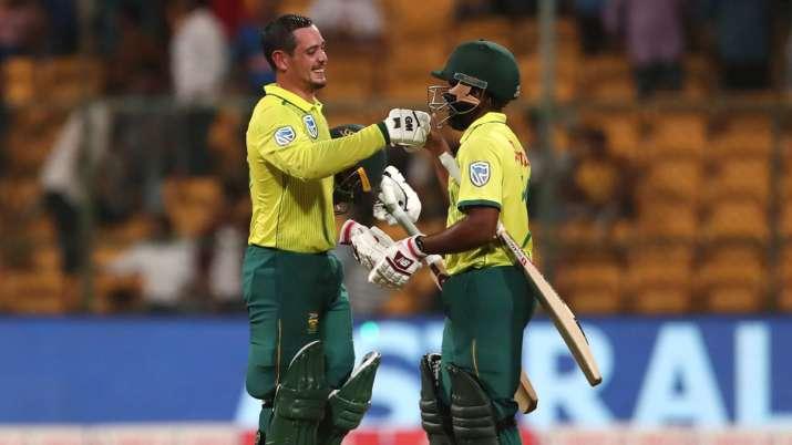 IND vs SA 3rd T20I: दक्षिण अफ्रीका ने बड़ी जीत से बराबर करायी सीरीज, क्विंटन डिकॉक ने खेली धमाकेदार - India TV