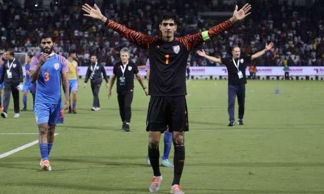 Gurpreet Singh, Captain Indian Football Team- India TV