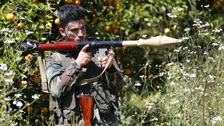 Hezbollah fires rockets into Israel from Lebanon, both exchange fire at border | AP- India TV