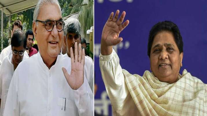 BSP will contest alone on all 90 seats in the upcoming...- India TV
