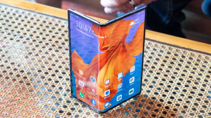 Huawei's first folding smartphone to launch next month- India TV Paisa
