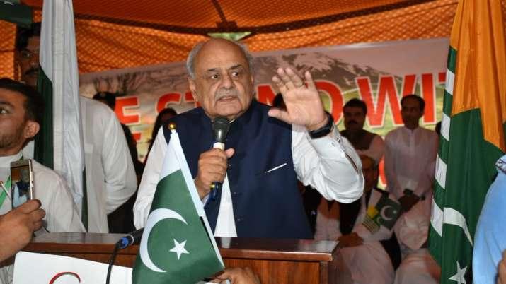 पाकिस्तान के गृहमंत्री एजाज अहमद शाह का बड़ा कबूलनामा, सरकार के इशारे पर लड़ रहे आतंकी- India TV