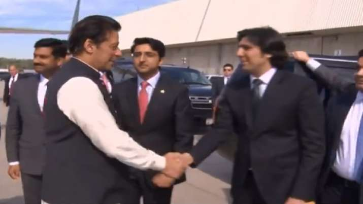 No american official present to welcome Pakistani PM Imran Khan in America- India TV