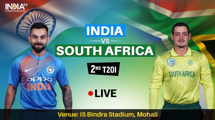 इंडिया बनाम साउथ अफ्रीका लाइव क्रिकेट स्ट्रीमिंग कब कहां और कैसे देखें लाइव मैच, इंडिया बनाम साउथ अफ- India TV
