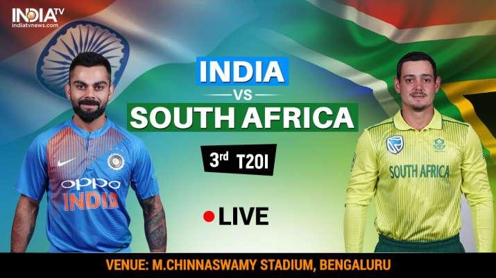 इंडिया बनाम साउथ अफ्रीका लाइव क्रिकेट: इंडिया बनाम साउथ अफ्रीका लाइव क्रिकेट स्ट्रीमिंग कब कहां और क- India TV