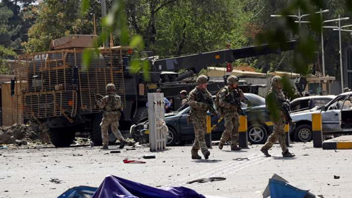 Taliban claim deadly attack near US embassy in Kabul | AP- India TV