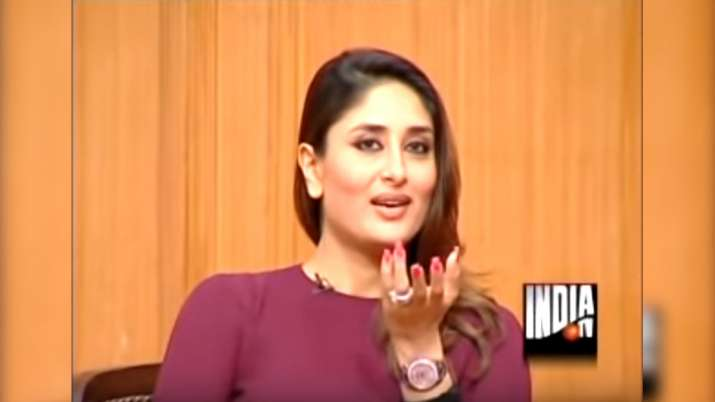 Kareena Kapoor in Aap Ki Adalat- India TV
