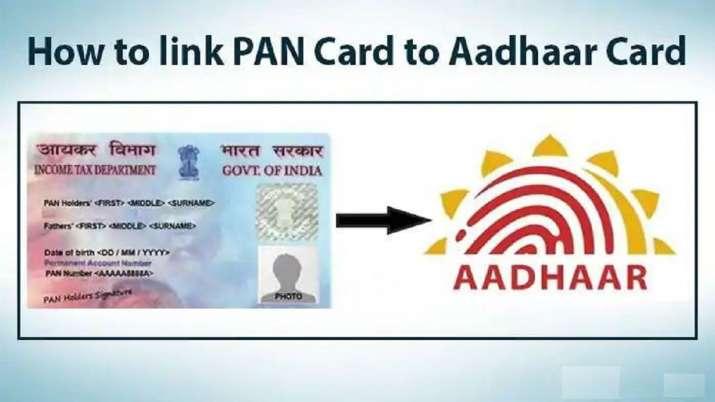 link aadhaar card to pan card - India TV Paisa