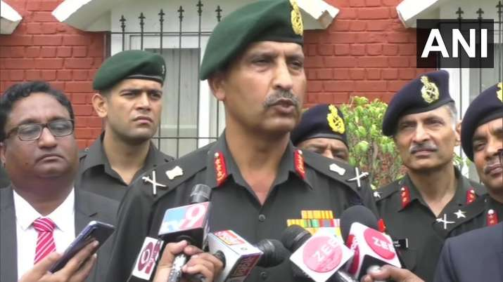 Lt Gen S K Saini, GOC-in-C, Army Southern Command- India TV