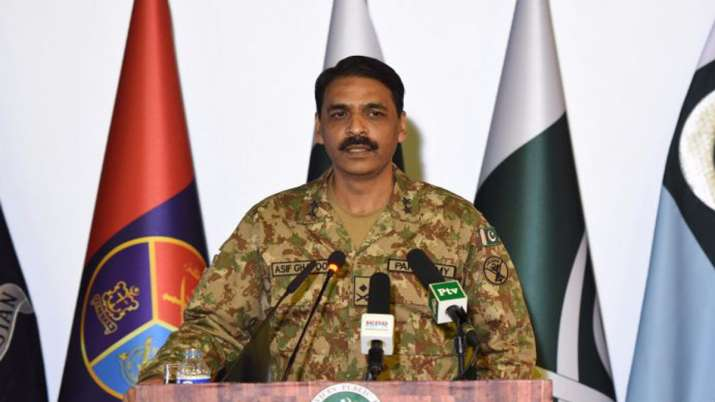 Maj Gen Asif Ghafoor, Pakistan- India TV
