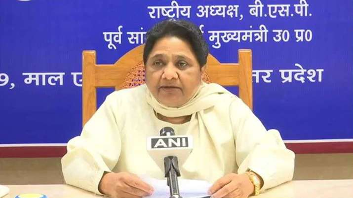 Mayawati reaction on HC order against including 17 OBC castes in Scheduled Cast category in Uttar Pr- India TV
